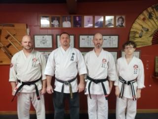 MTK New Black Belt Members
